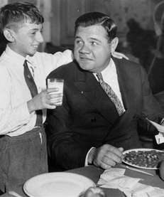 FEBRUARY 6 Babe Ruth (pictured) Kris Humphries