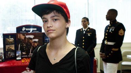 Theresa McCormick, age 17 of Scranton Pa., who