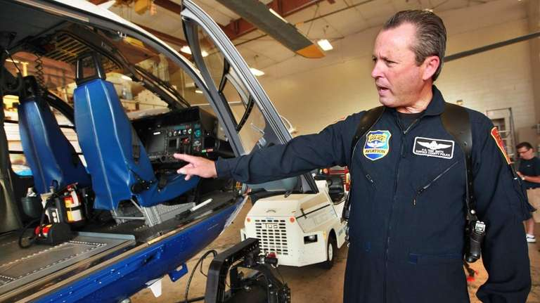 Suffolk County police officer Tom Smith, a pilot