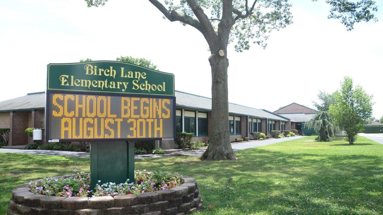 Birch Lane Elementary School was built in 1955