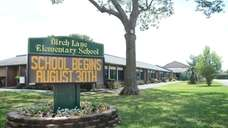 Birch Lane Elementary School was built in 1955