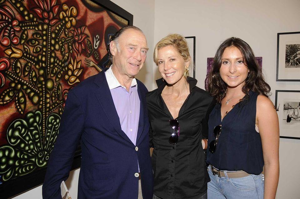 (l-r) Warren Wertman, Eve Reid and Clair Reid