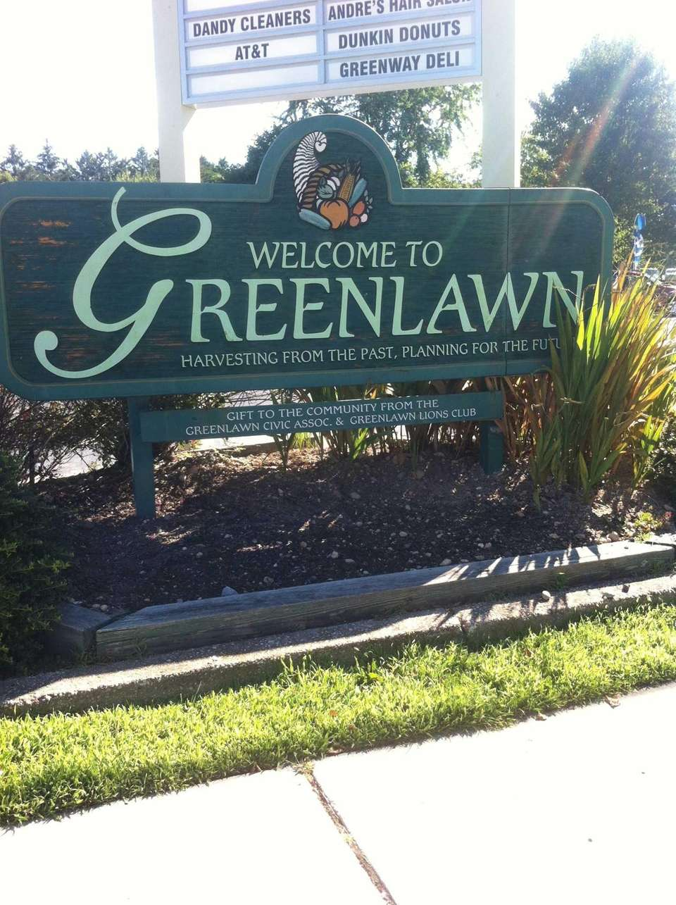 Greenlawn, originally named Old Fields, is a hamlet