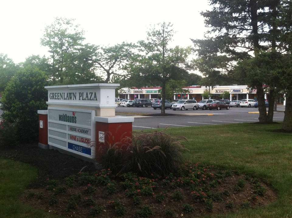 Greenlawn Plaza is a shopping center in Greenlawn