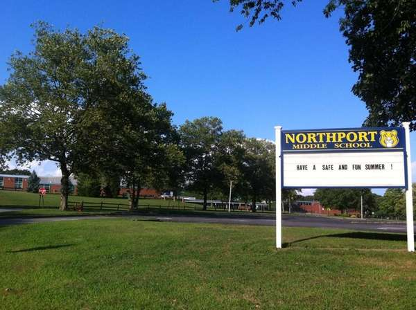 Northport Middle School, at 11 Middleville Rd., in
