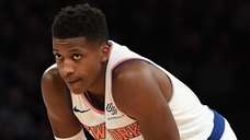 Knicks guard Frank Ntilikina had six assists and