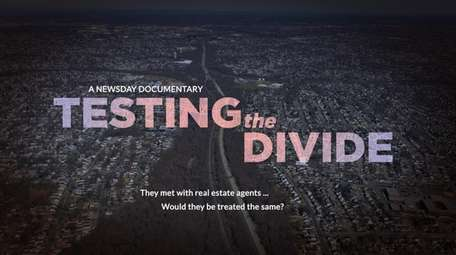 Newsday's paired testers visit real estate agents across