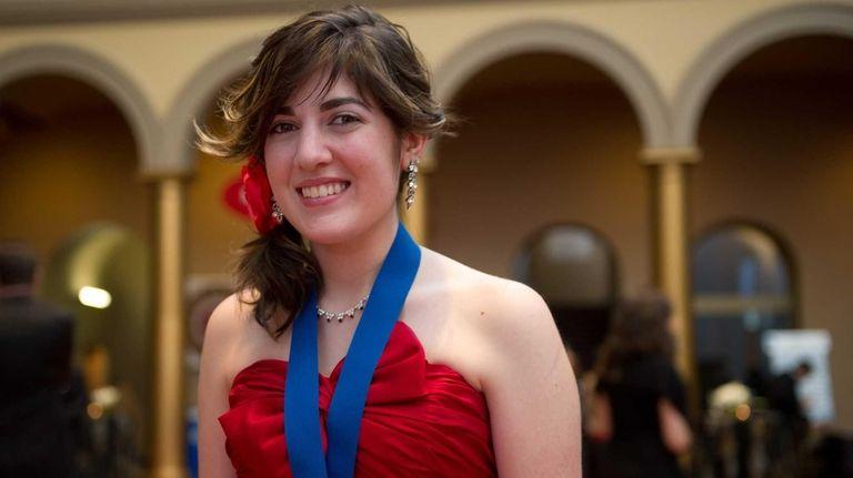 Rachel Davis, 18, a Smithtown East High School