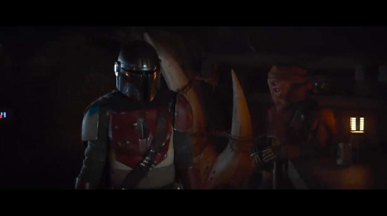 """""""The Mandalorian,"""" now streaming on Disney+, offers a"""