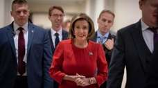 House Speaker Nancy Pelosi said she will protect