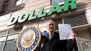 Sen. Chuck Schumer on Sunday called on bargain