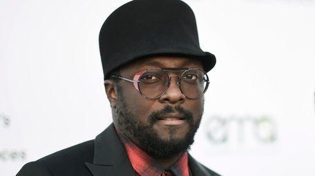 Grammy-winning Black Eyed Peas musician will.i.am attends the