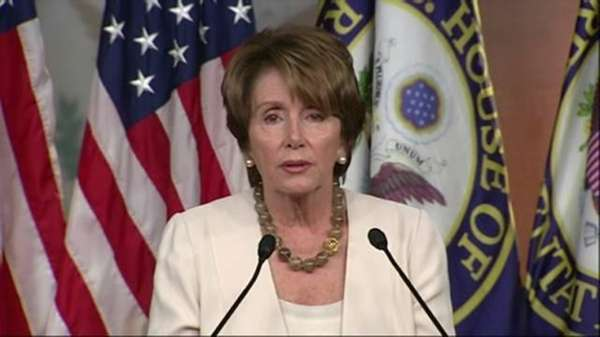 House Minority Leader Nancy Pelosi. (July 26, 2012)
