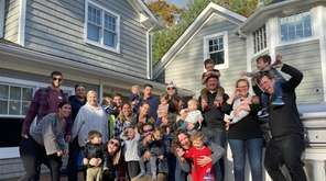 Friends all over Long Island gather to celebrate