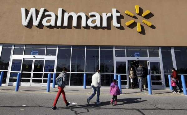 A baby was born inside a Walkill Walmart,