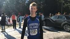 Shelter Island's Kal Lewis spoke about winning the