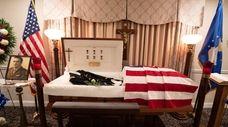 A wake for John F. McTigue, an U.S.