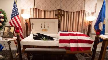 A wake for John F. McTigue, an U.S.