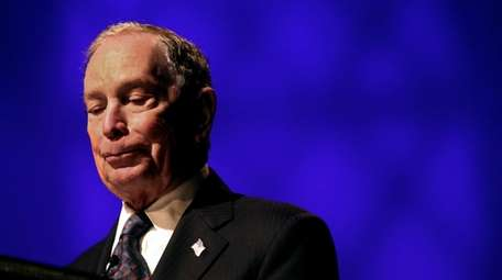 Michael Bloomberg on Sunday at the Christian Cultural