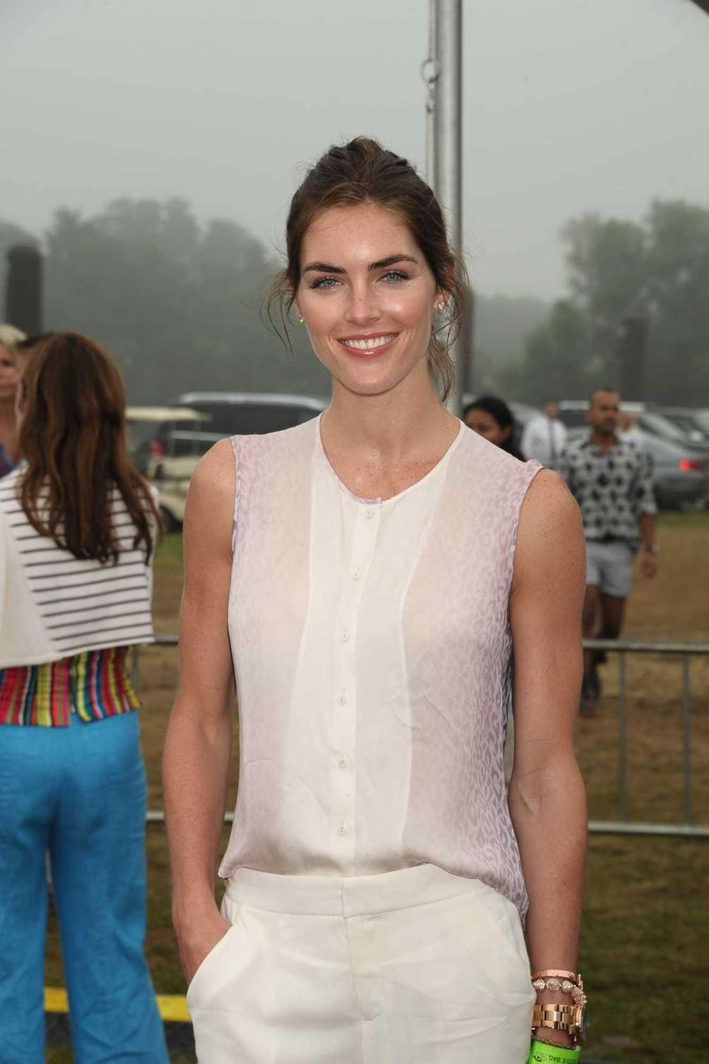 Model Hilary Rhoda attends Super Saturday 15 to