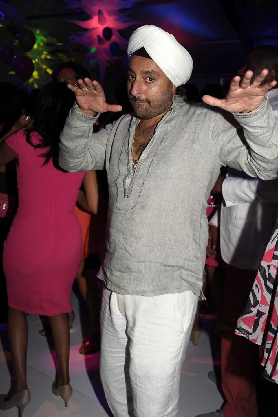 American hotelier Vikram Chatwal attends Russell Simmons Rush