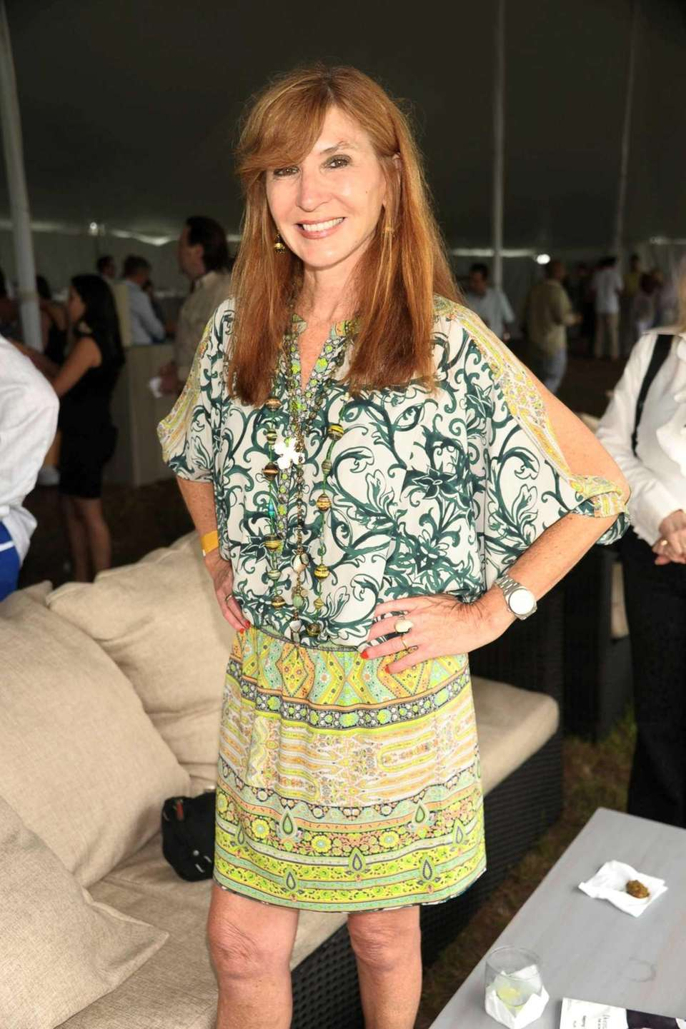 Nicole Miller attends the Bridgehampton Polo Challenge at
