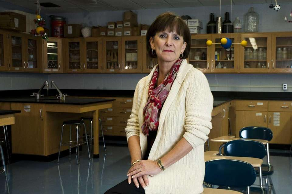 Patricia Sullivan-Kriss is superintendent of Hauppauge Public Schools,
