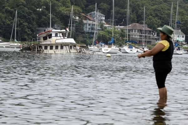 The Noli Eileen, a 56-foot fishing boat, is