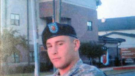 Army Spc. Sean LaPersonerie returned from his tour