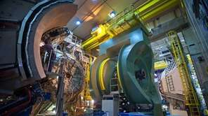 The PHENIX detector at Brookhaven National Laboratory's Relativistic