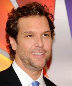 Dane Cook arrives for the NBC network upfront