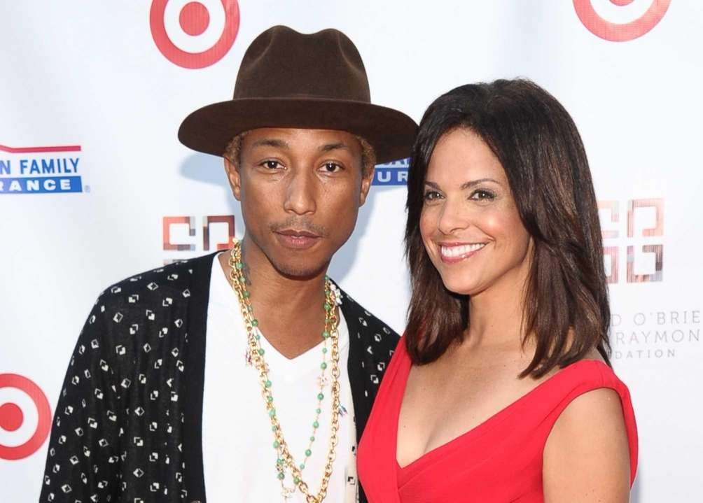 Pharrell Williams and Soledad O'Brien at the 2nd