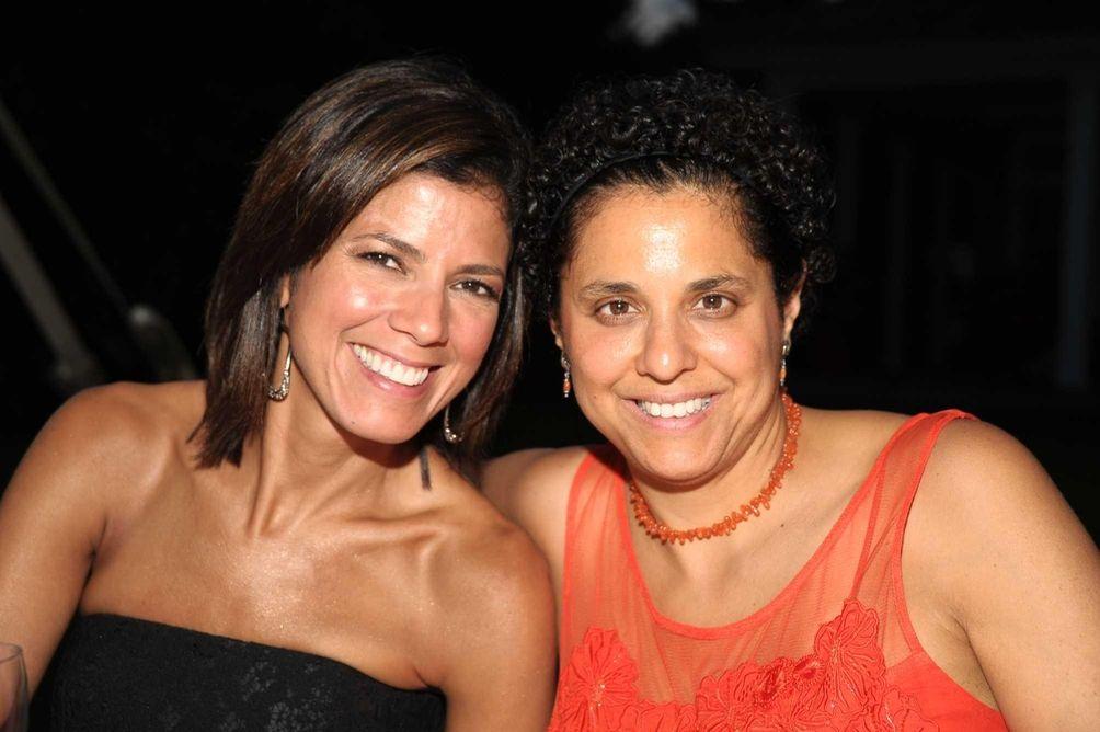 CNN's Zoraida Sambolin and Rose Arcey at the