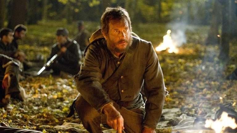 Bill Paxton portraying Randall McCoy in a scene