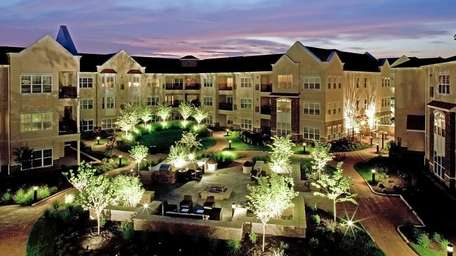 The 349-unit rental complex Avalon Rockville Centre features