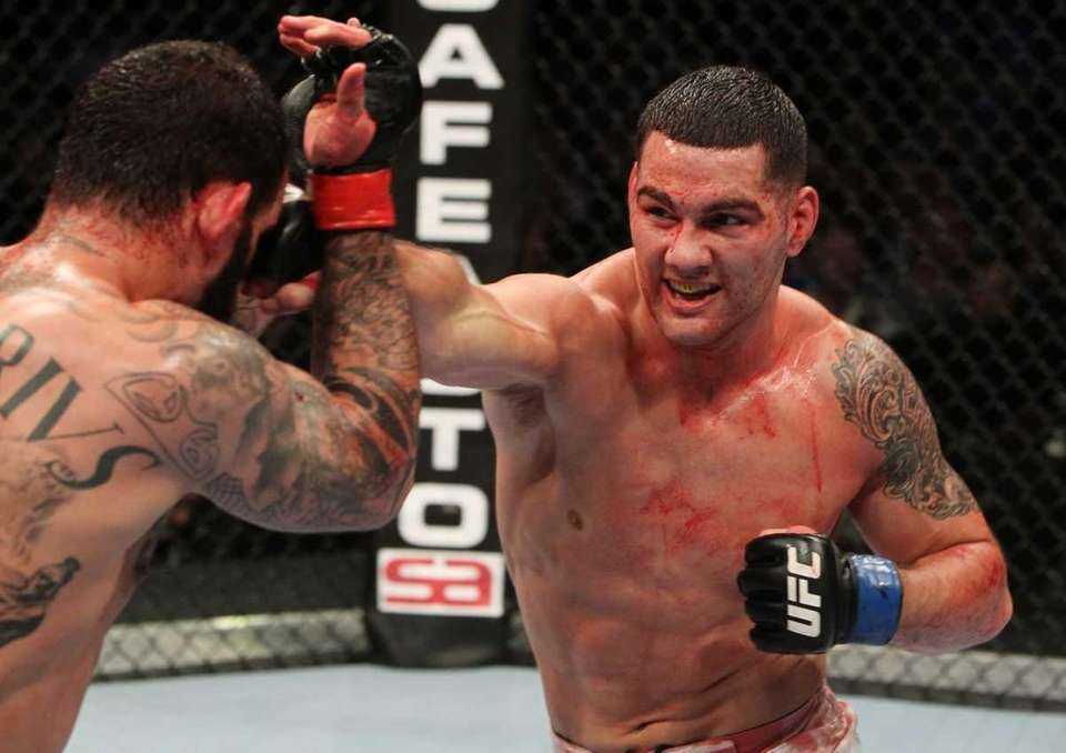Chris Weidman tried out for