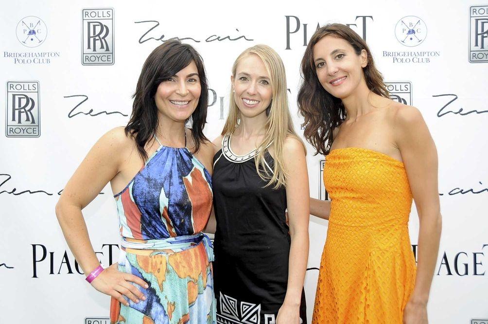 (L to R) Tamara Grove, Sabine Brown and