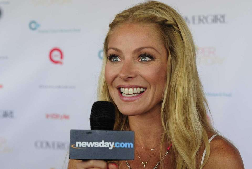 Kelly Ripa gives newsday.com an interview at the