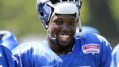 New York Giants Jason Pierre-Paul (90) during NFL