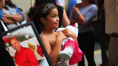 Ava Gambardella, daughter of Danny Gambardella, who died