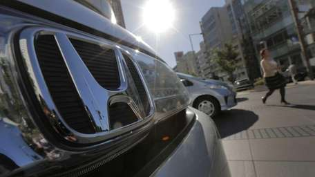 Honda Motor Co.'s quarterly profit quadrupled to $1.7