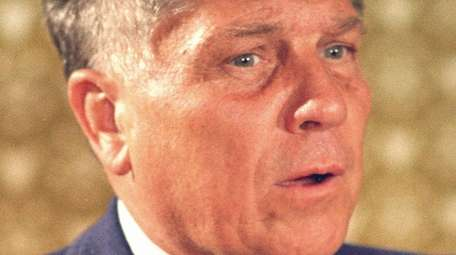 Teamsters president Jimmy Hoffa, seen in Washington on