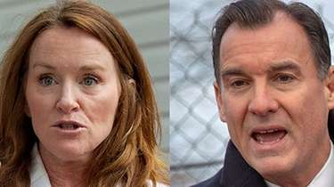 Reps. Kathleen Rice (D-Garden City) and Thomas Suozzi
