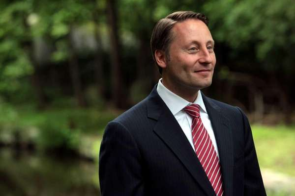 Westchester County Executive Rob Astorino speaks at a