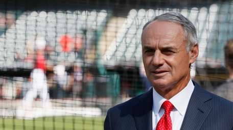 Commissioner Rob Manfred said,