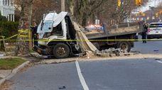 Nassau police investigate a fatal crash on Peninsula