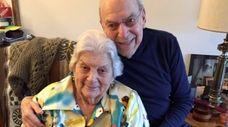 Minna and Joe Perlow, seen in a photo