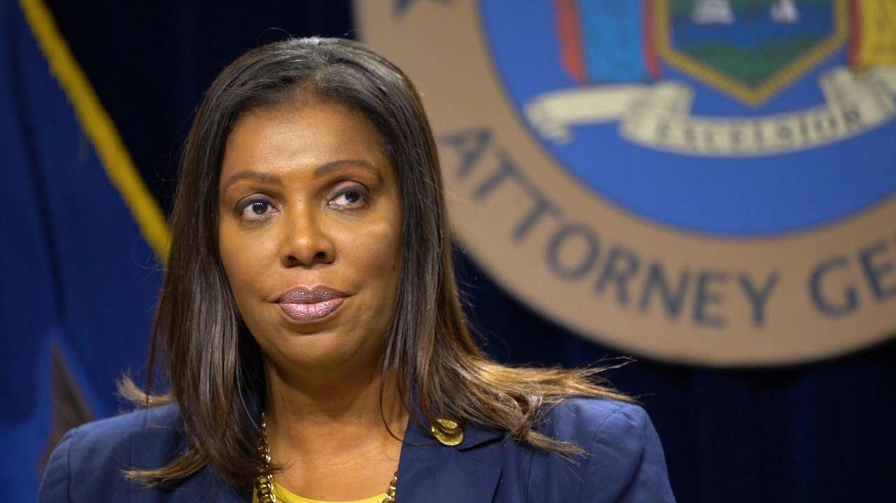 New York Attorney General Letitia James said Tuesday