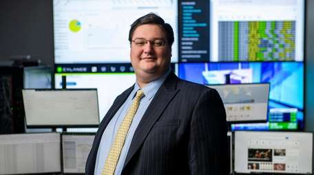 Benjamin Dynkin, co-founder of Great Neck-based Atlas Cybersecurity,