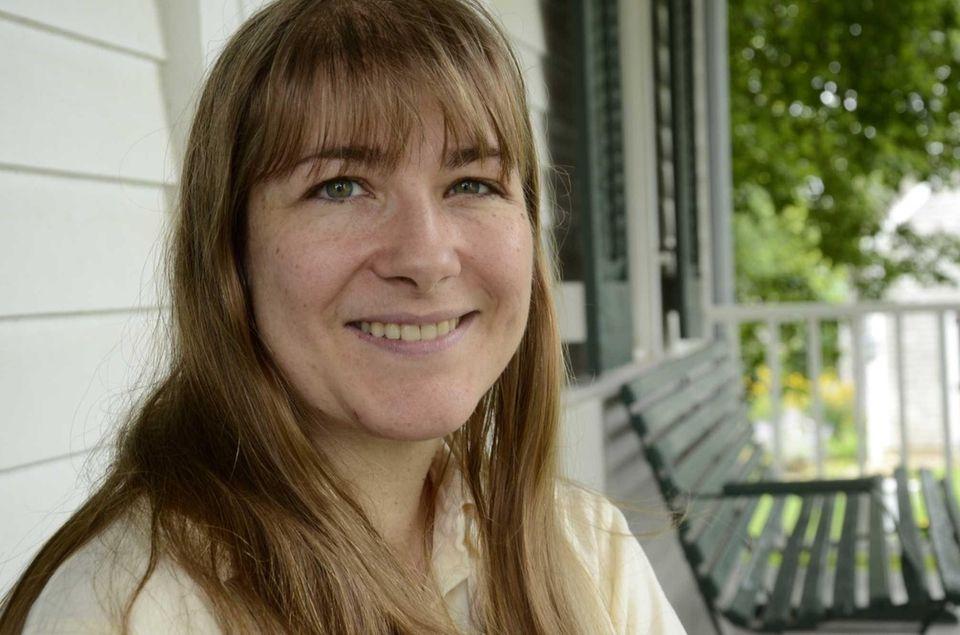 Ellen Cone Busch, 40, of Orient, moved to